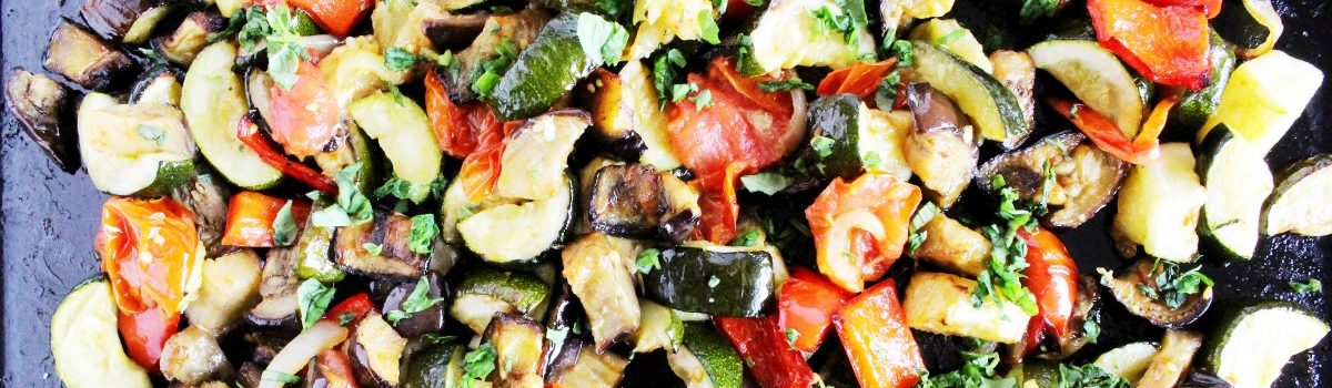 The Winter Salad That Keeps on Giving: Roasted Vegetable and Lentil Salad with Herbed Dressing